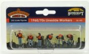 Bachmann 36421 1960/70s Lineside Workers